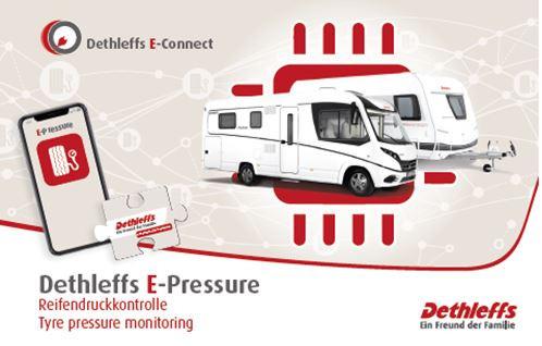 E-Pressure-Capteur de pression pour pneus