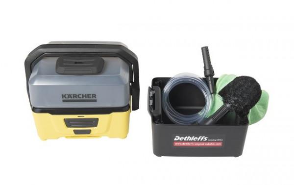 "Kärcher Druckreiniger OC 3 inkl. Zubehörbox ""Dethleffs Camping Edition"""