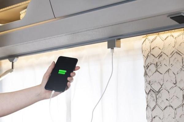 USB-Steckdose für Stromschienenadapter