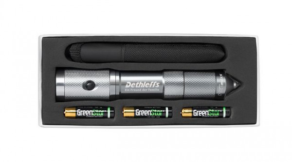 Pocket Torch with integrated Emergency Hammer and seatbelt cutter