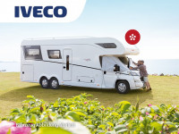 Thermal window screen for IVECO